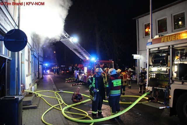 Brand groß