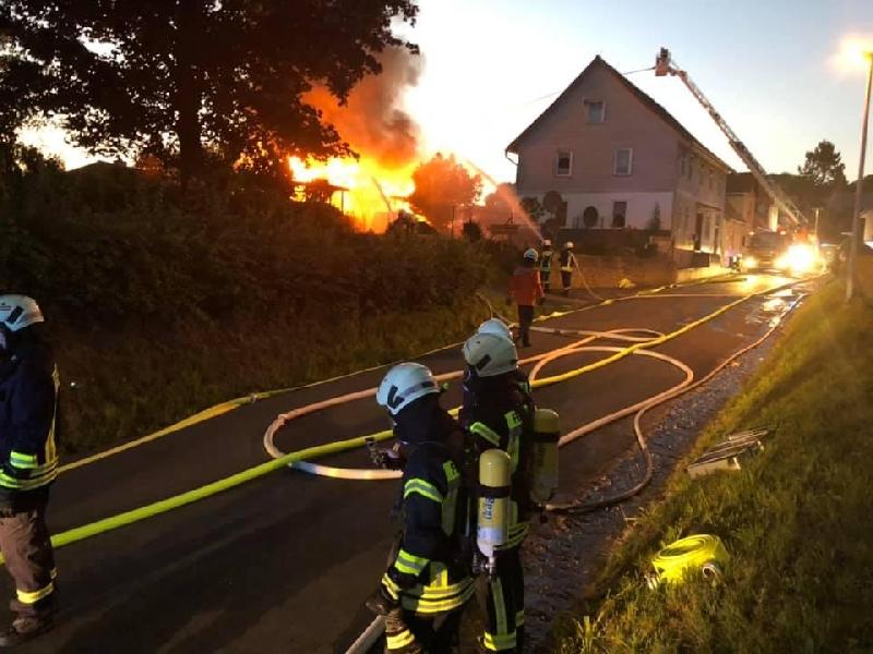Einsatz-Groß: Brand